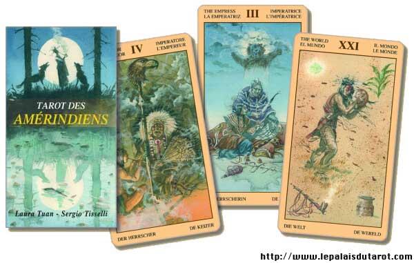 Tarot des Amérindiens cartes
