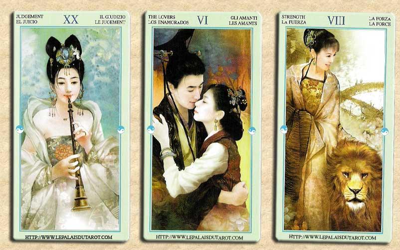 f941266270c0c1 Le Tarot Tarot Chinois Art Der Jen
