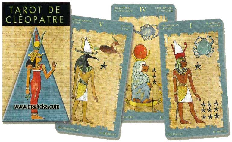 Tarot de Cléopatre jeu