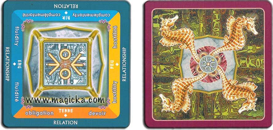 oracle divinatoire jeu de cartomancie. Black Bedroom Furniture Sets. Home Design Ideas