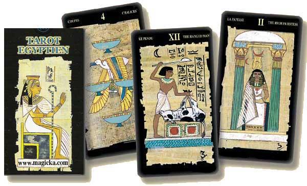 Tarot Egyptien de Silvana Alasia