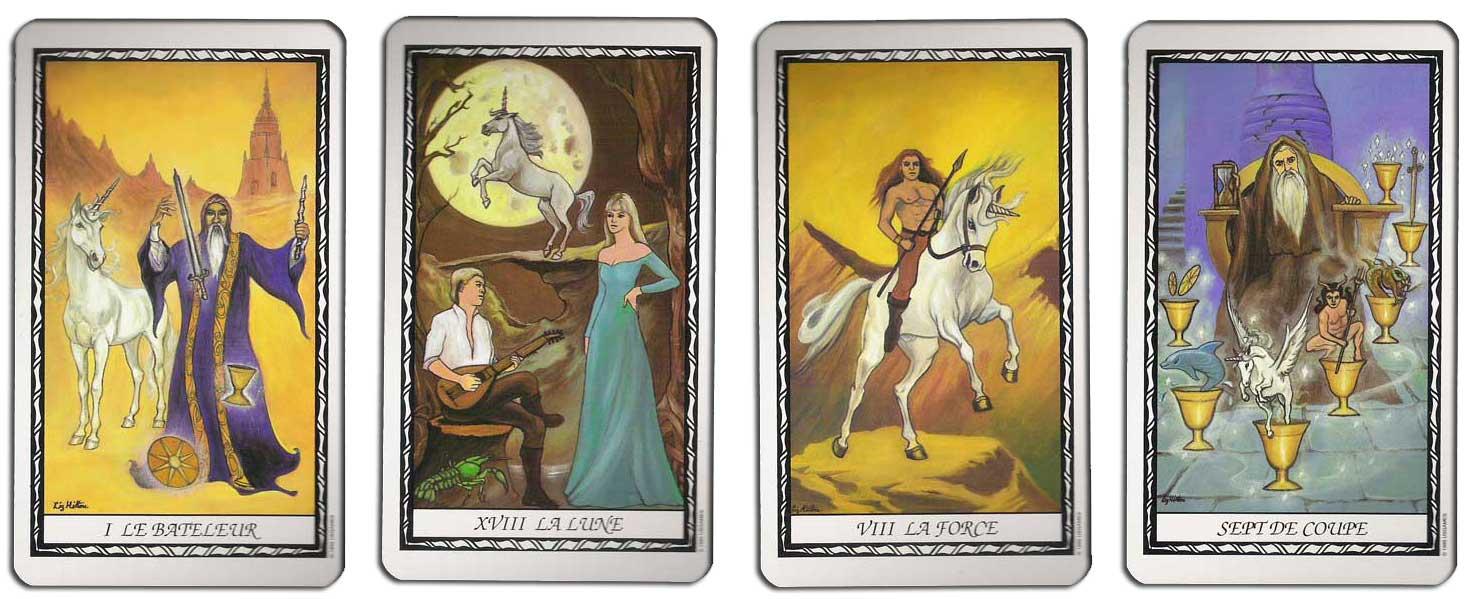 Tarot de la Licorne jeu