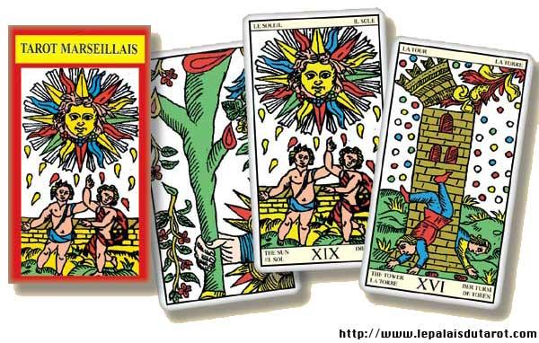 Tarot Marseillais jeu
