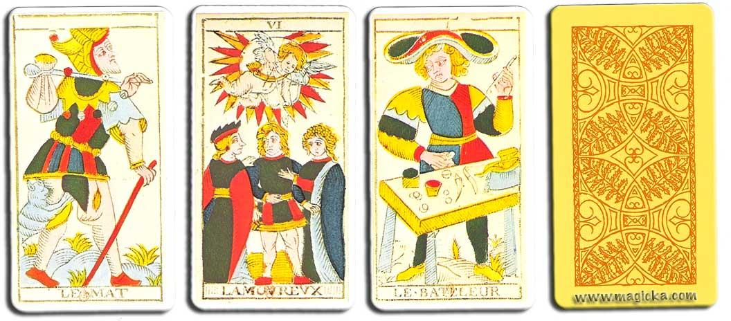 Tarot de Marseille Conver jeu