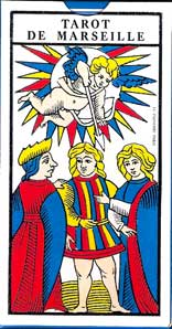 Tarot de Marseille de Paul Marteau