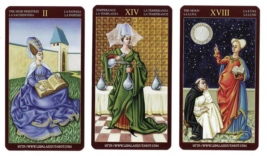 Tarot Médiéval jeu