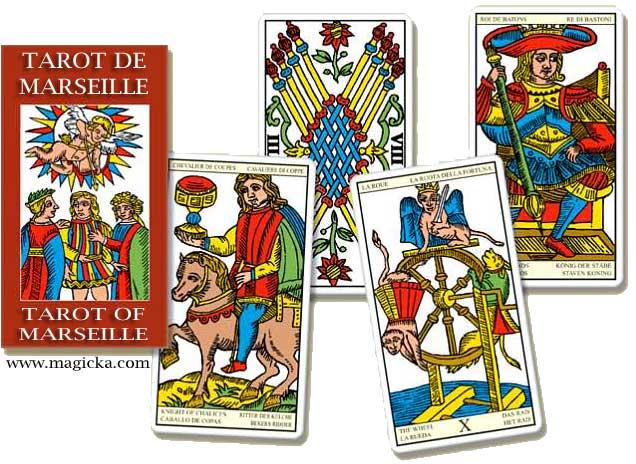 Mini Tarot de Marseille Universel jeu