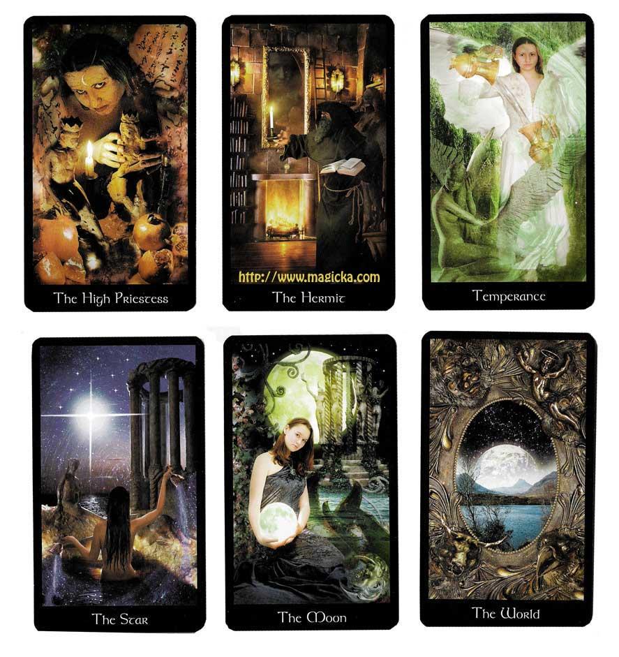 Le Tarot du Monde Moderne Médiéval jeu