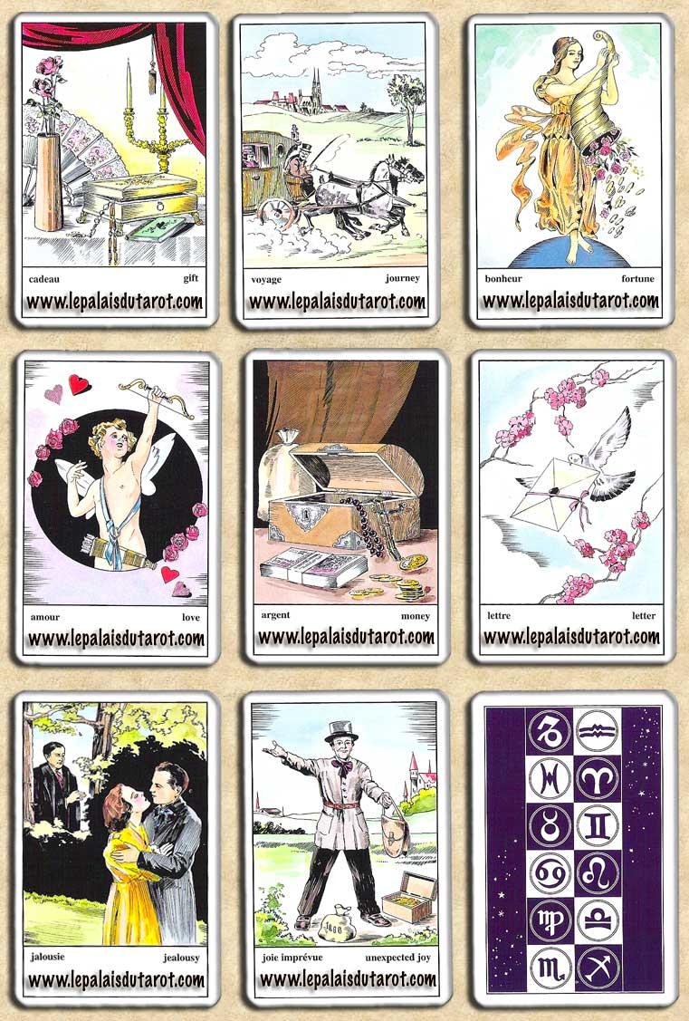 l 39 oracle tzigane piatnik carte oracle jeu de tarot zigeuner wahrsagekarten. Black Bedroom Furniture Sets. Home Design Ideas