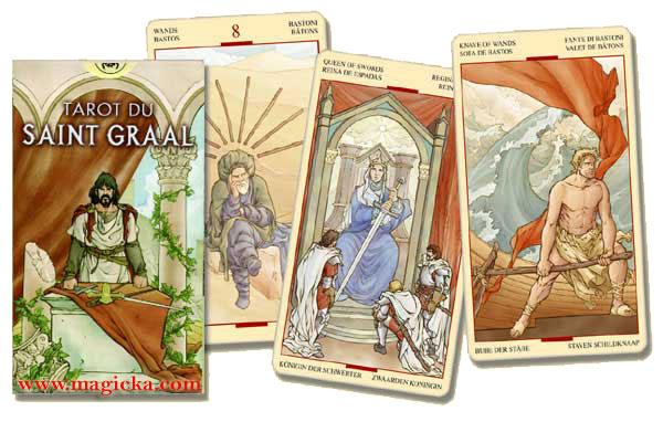 Le Tarot du Saint Graal jeu