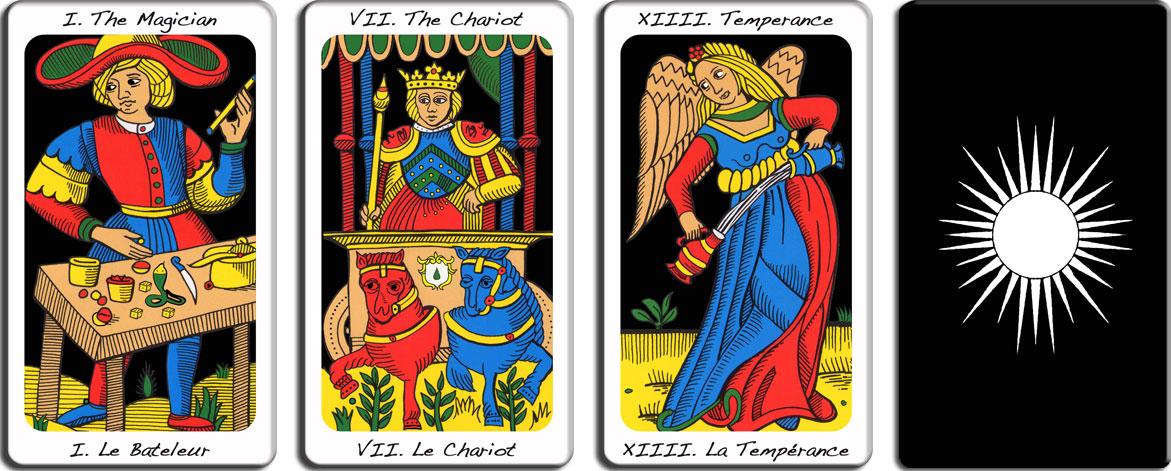 cartes du tarot de marseille premium