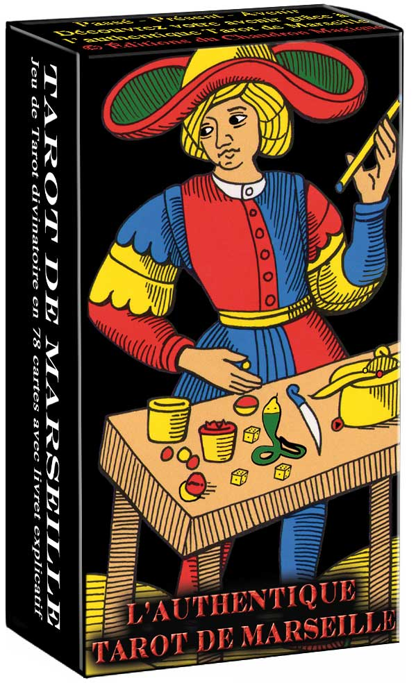 Authentique Tarot de Marseille 9b284864d0f9