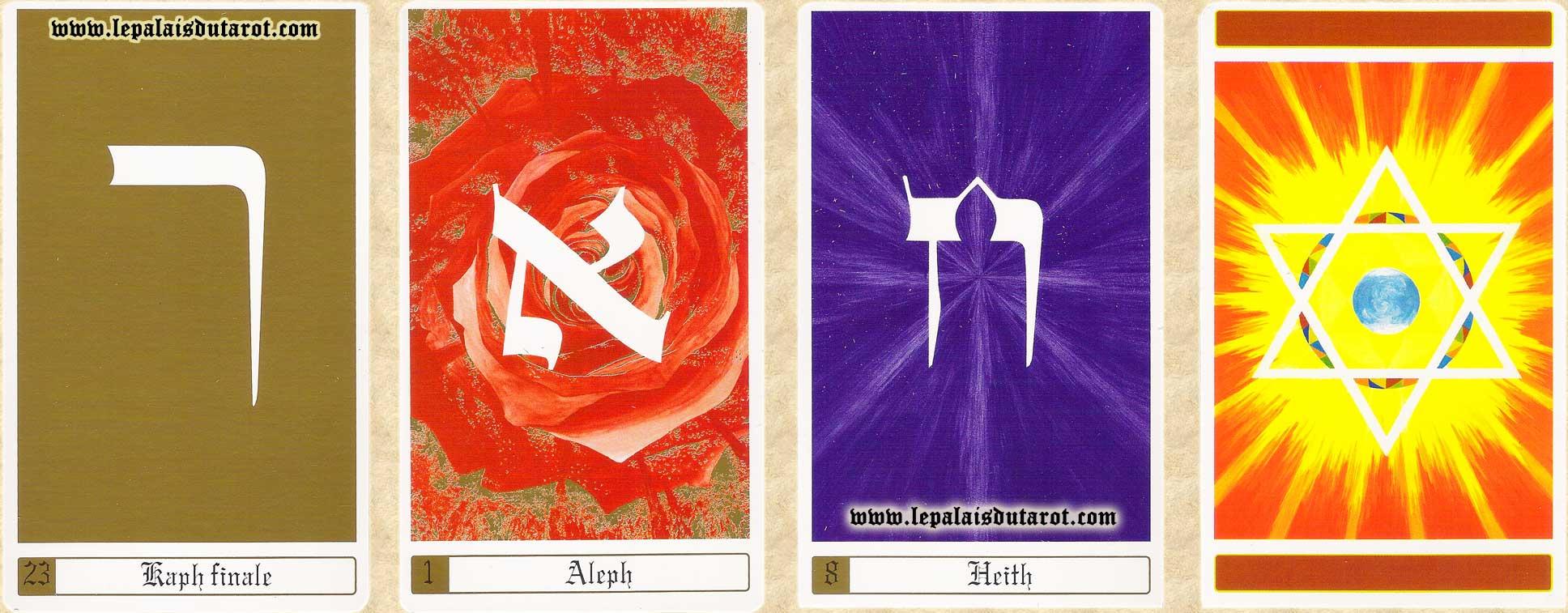 lettre hebraique Le Tarot des lettres hébraiques   DISPONIBLE lettre hebraique