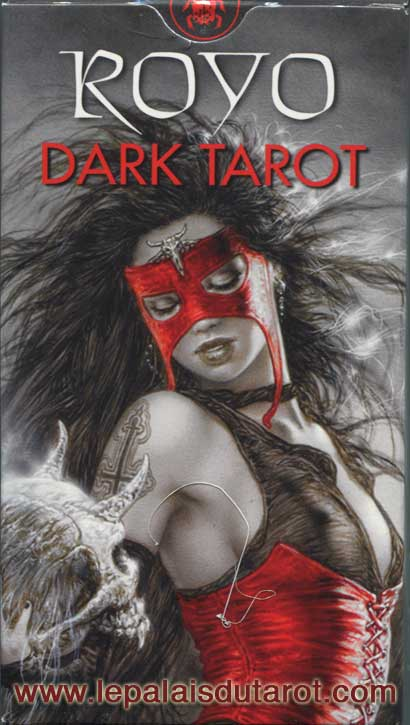 rojo dark tarot black